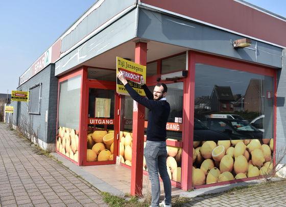 ImmoTijl verkoopt vroegere Sparwinkel in Baasrode!